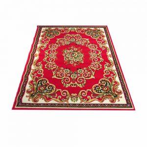 R171042 Pasha College 46 Shots Red/Yellow Indonesia Carpet