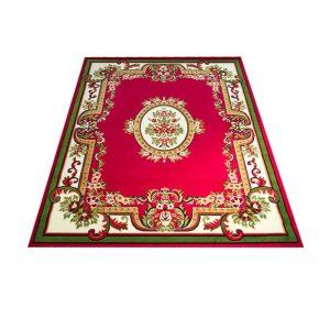 R17113 Pasha College 46 Shots Red/Yellow Indonesia Carpet