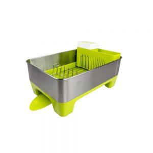 EKO-Dish-rack-green-(EK9273-LI)-18x36.8x52.5cm